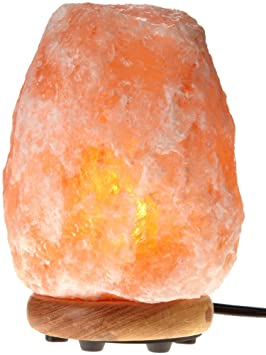WBM 1006 12-Inch Tall Himalayan Natural Crystal Salt Lamp 27-35 ...