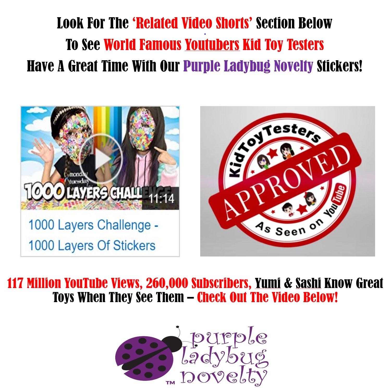 amazon com teacher stickers for kids mega pack by purple ladybug
