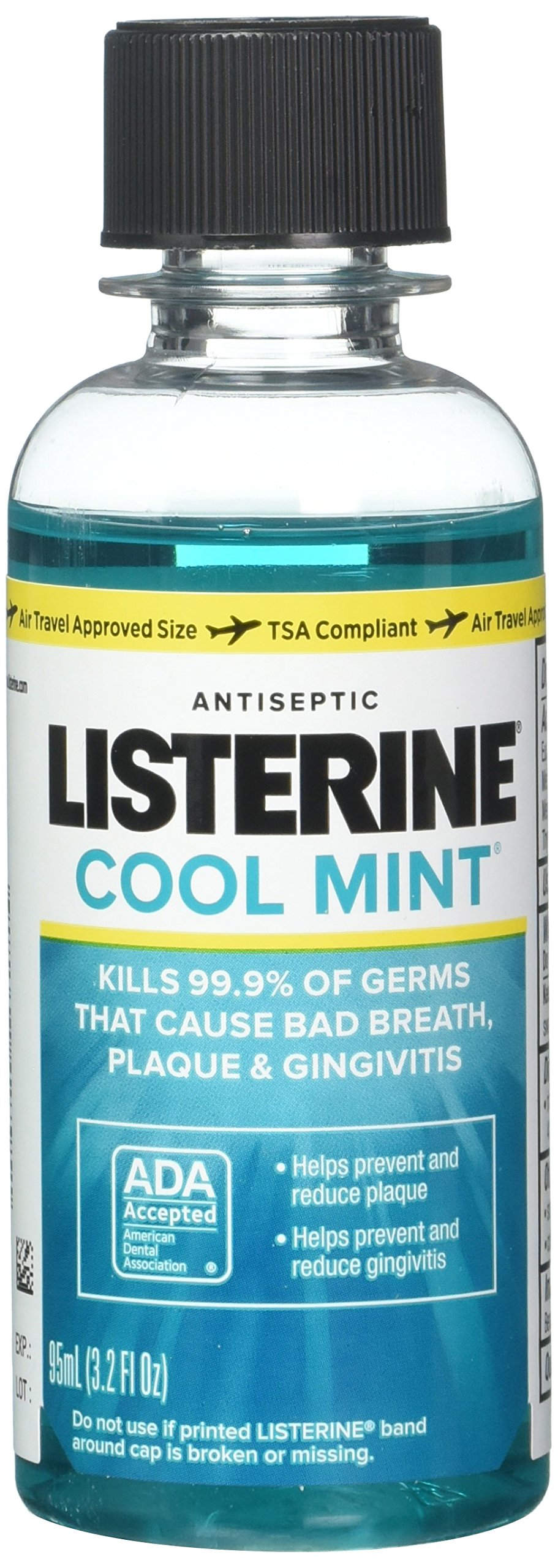 Listerine Cool Mint 3.2 oz. (Pack of 6)