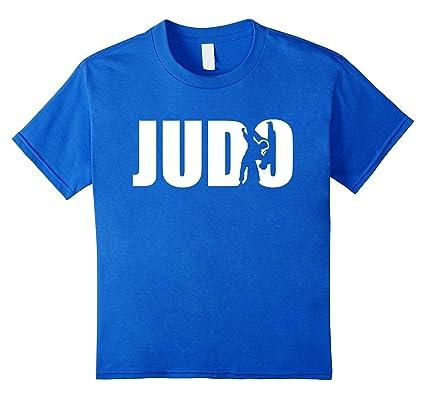Judo Judoka T Shirt Kinder Grosse 152 Konigsblau Amazon De Bekleidung