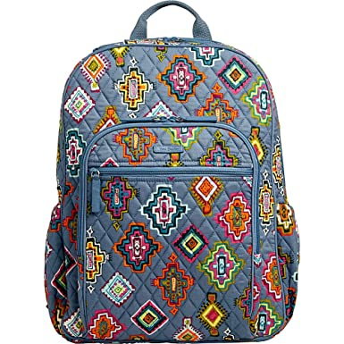 8622a4c45f Vera Bradley Women s Campus Tech Backpack Painted Medallions Backpack