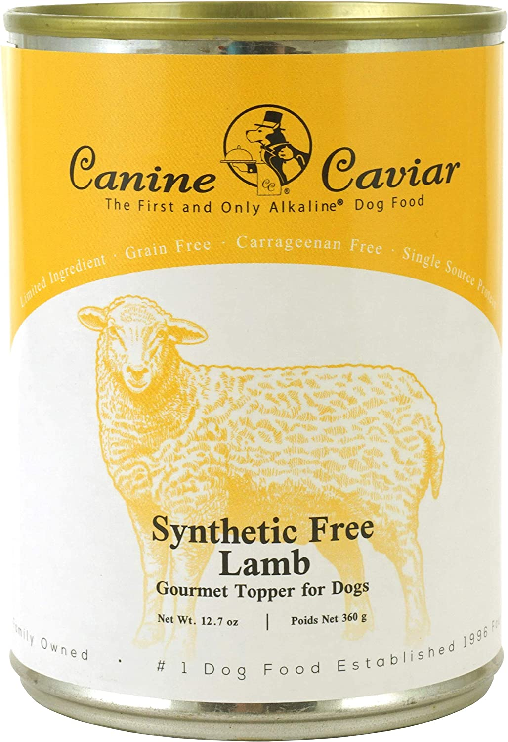 Canine Caviar Grain And Synthetic Free Gournet Toppers 12 Pack