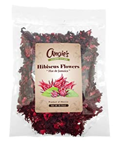 All Natural Hibiscus Flowers 1lb (16oz) | Whole Flowers and Petals | Perfect for Iced or Hot Tea | Flor de Jamaica
