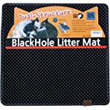 "Blackhole Cat Litter Mat - Medium Square 23"" X 21"" - Blackhole Litter Mat"