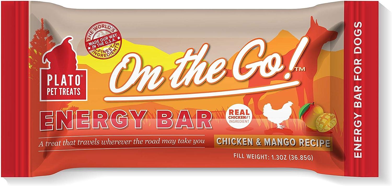 PLATO Energy Bar - Chicken and Mango Recipe