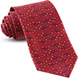 9ff209eb26c6 Christmas Ties For Men: Mens Printed Festive Necktie Holiday Neckties Tie