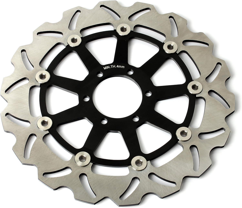 Tarazon Bremsscheiben Rotoren Set Vorne Hinten 3 Pcs Für Yamaha Fzr 600 R 89 95 Fzs 600 Fazer 98 03 Auto