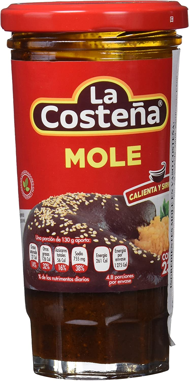 La Costeña Mole Paste 235g: Amazon.es: Alimentación y bebidas