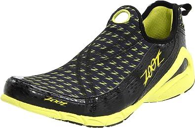 ZOOT Ultra Speed 2.0 Zapatilla de Triatlón Caballero, Negro/Amarillo, 48: Amazon.es: Zapatos y complementos