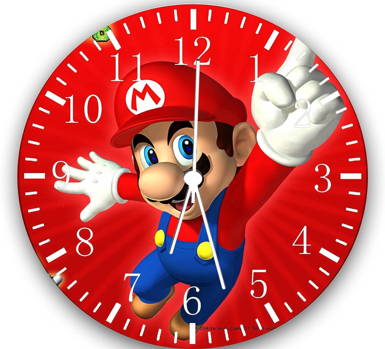 New Super Mario Bros. Wall Clock 10Nice Gift Wall Decor W08