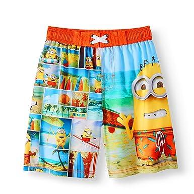 bbb0693845 Amazon.com: Fashion Despicable Me Minions Boardshort Swim Trunk ...
