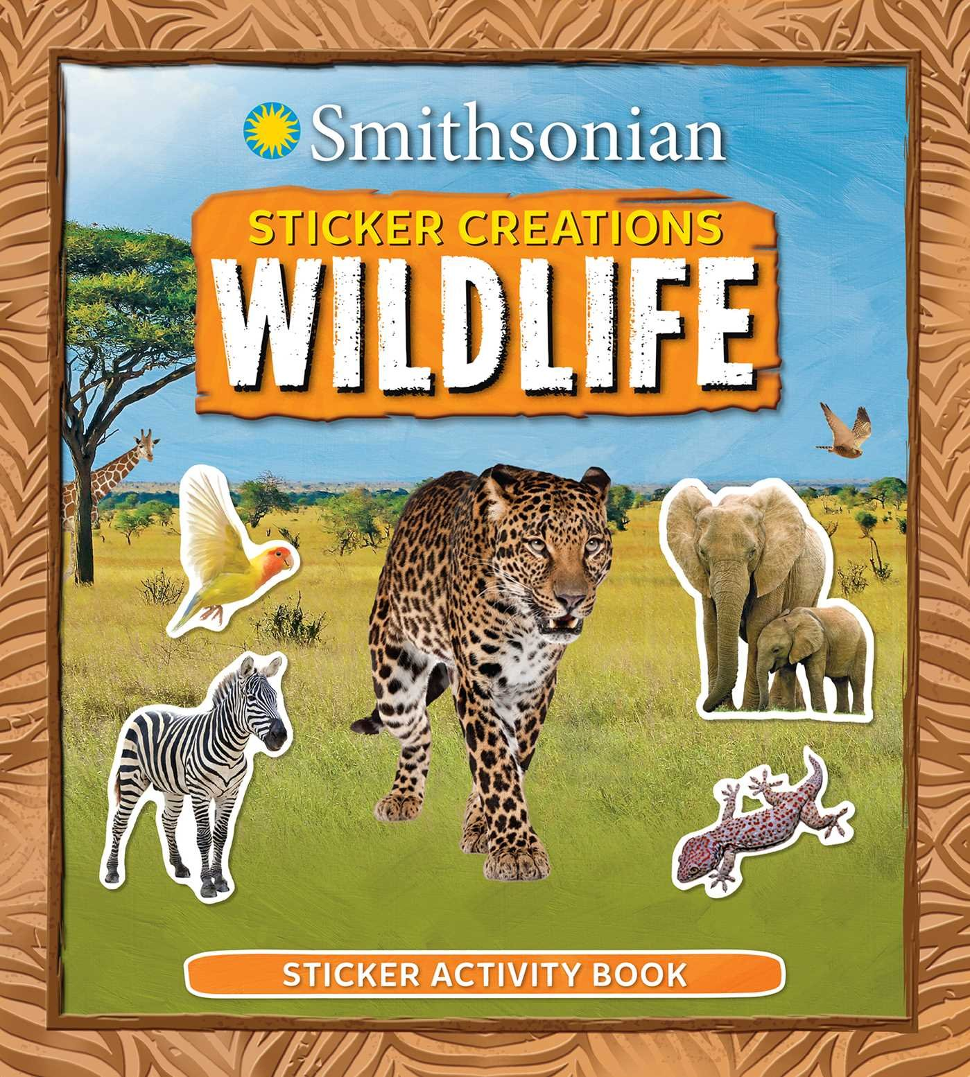 Read Online Smithsonian Sticker Creations: Wildlife pdf