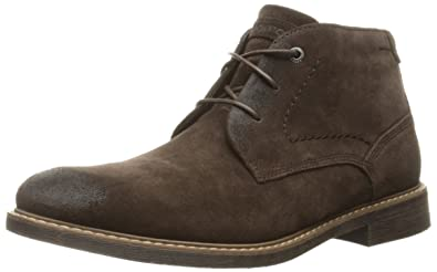 Rockport Men's Classic Break Chukka Boot- Dark Bitter Chocolate Suede-6.5 W