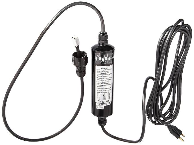 Amazon Com Aqua Ultraviolet 25 Watt Transformer Black Pet Supplies