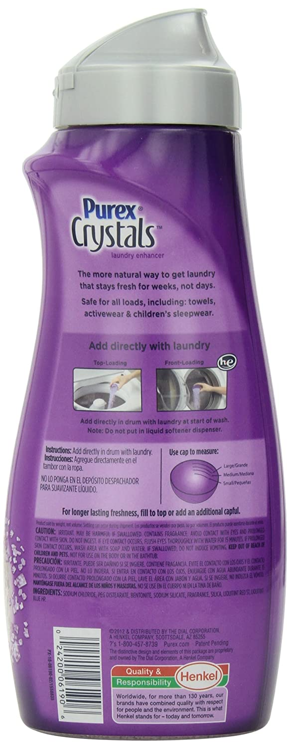 Amazon.com: Purex Crystals In-Wash Fragrance Booster, Lavender Blossom, 24 Ounce: Health & Personal Care