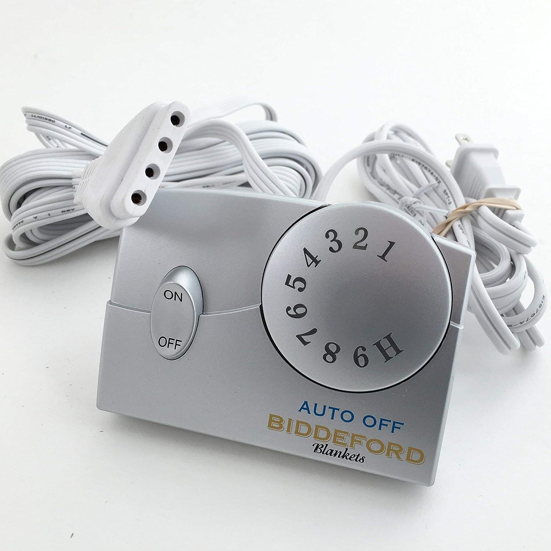 Biddeford 76pa Single Control Tc11ba Electric Blanket Controller 4-prong Plug