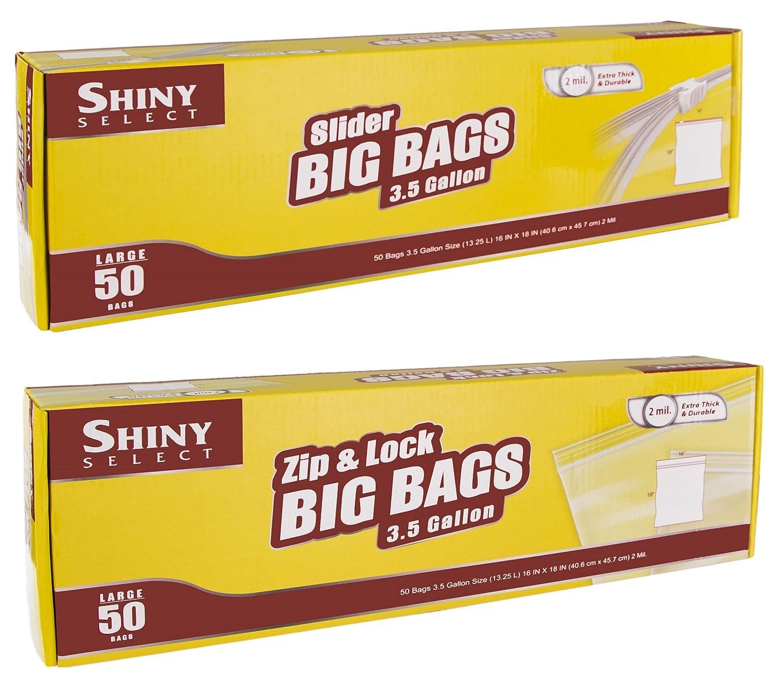 Amazon.com: 50 Ziplock Plus 50 bolsas de almacenamiento ...