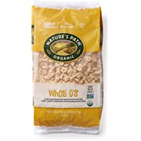 Nature's Path Whole O's Cereal, Healthy, Organic, Gluten-Free, Low-Sugar, 26.4 Ounce Bag (Pack of 6)
