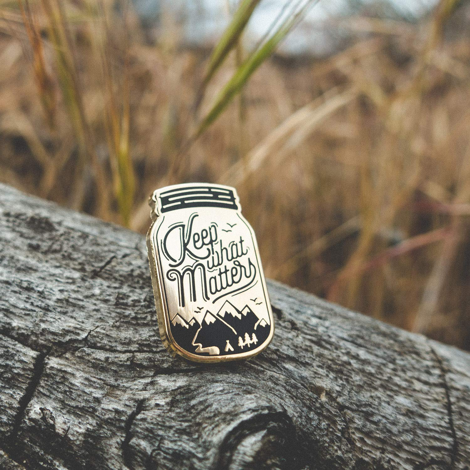 Enjoy The Journey with Deluxe Pin Lock Asilda Store Lapel Enamel Pin