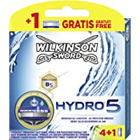 Wilkinson Sword Hydro 5 Hoja Paquete 4 + 1 hoja gratis, 5 unidades)