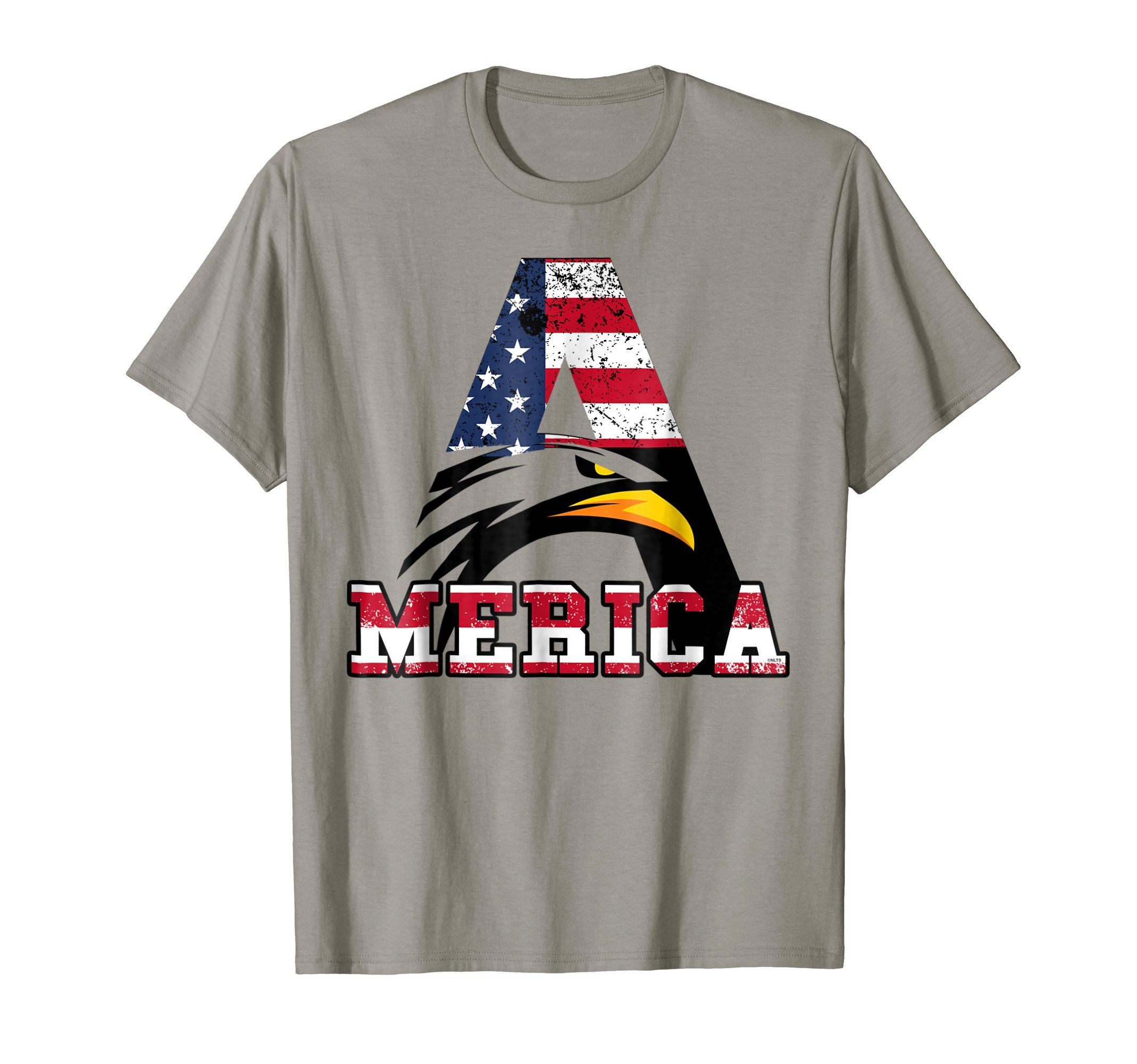 4th-of-July-Eagle-Face-America-Flag-T-Shirt-Tee-Shirt-Gift