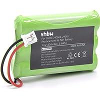 vhbw Batería NiMH 800mAh (3.6V) para babyphone, monitor