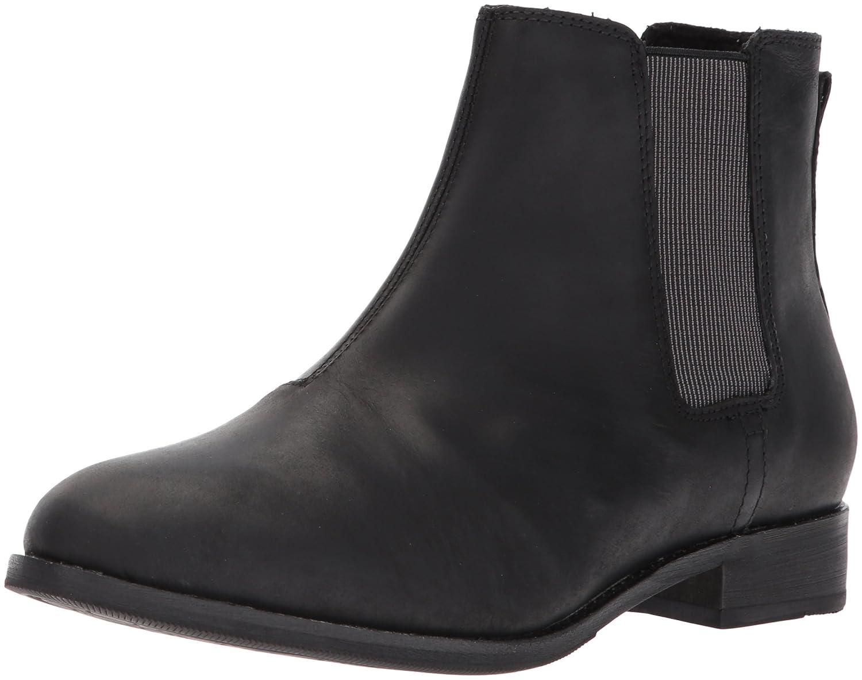 Caterpillar Women's Matilda Leather Chelsea Ankle Boot B01MRX659C 6.5 B(M) US|Black