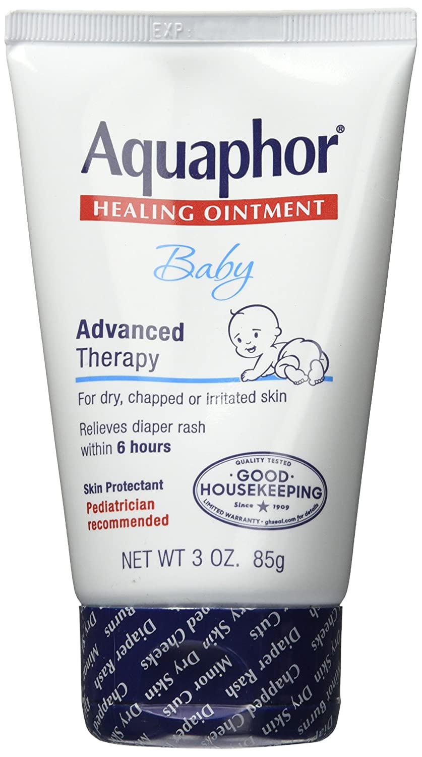 Aquaphor Healing Ointment Baby 3 Ounce Tube (89ml) (2 Pack)