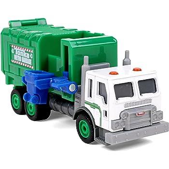 Amazon Com Tonka Diecast Big Rigs Side Arm Garbage Truck