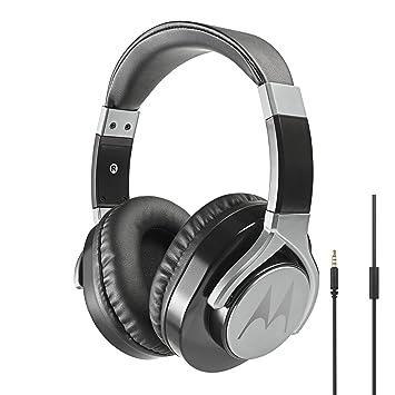 3df277a4d9e Motorola Pulse Max wired Headphones - Black: Amazon.co.uk: Electronics