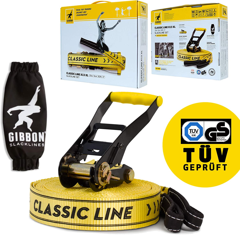 Gibbon Slacklines Classic Line X13 Slacklines