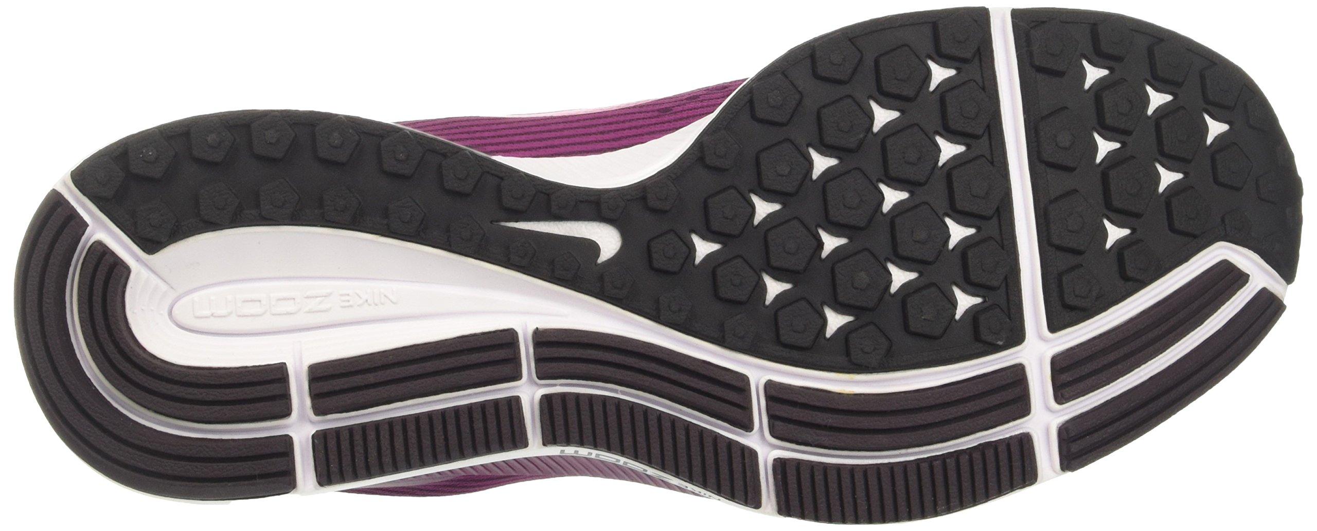 NIKE Women's Air Zoom Pegasus 34 Port Wine/Deadly Pink Running Shoe 7 Women US by NIKE (Image #3)