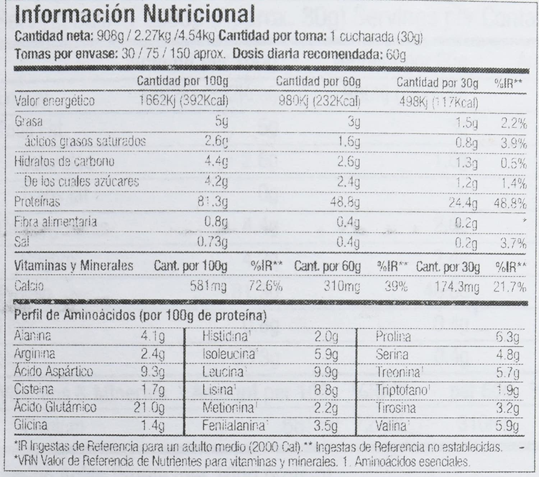 Starlabs nutrition wp8 myobolic 2.0, 2270g - proteina funcional multi-fuente: Amazon.es: Alimentación y bebidas