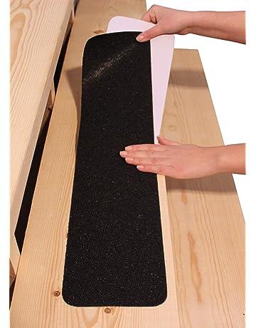 profil descalier en aluminium Profil dangle descalier bronze fonc/é * Antid/érapant * Robuste * Montage facile 135cm 42x40mm acerto 51131 Profil dangle descalier en aluminium