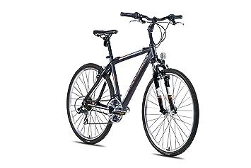Leader Fox '28 Zoll Alu Away Gent Cross Mountain Bike Black