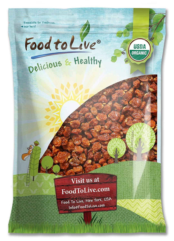 Organic Dried Golden Berries, 12 Pounds - Non-GMO, Kosher, Raw, Vegan, Bulk
