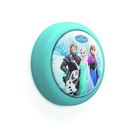 Philips Disney Frozen - Luz nocturna bombilla LED de 0.3 W, luz blanca cálida,