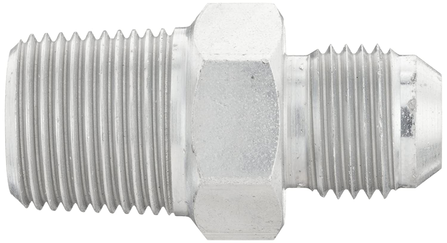 Male BSPT 3//8-BSPT JIC 37 Degree /& BSPT End Types 3//8 Tube OD 3//8 Tube OD x 3//8 JIC m End Size m Carbon Steel Male 37 Degree JIC Eaton Aeroquip GG110-NP06-06 Male Connector