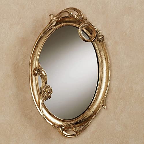 Touch of Class Art Nouveau Wall Mirror Gold