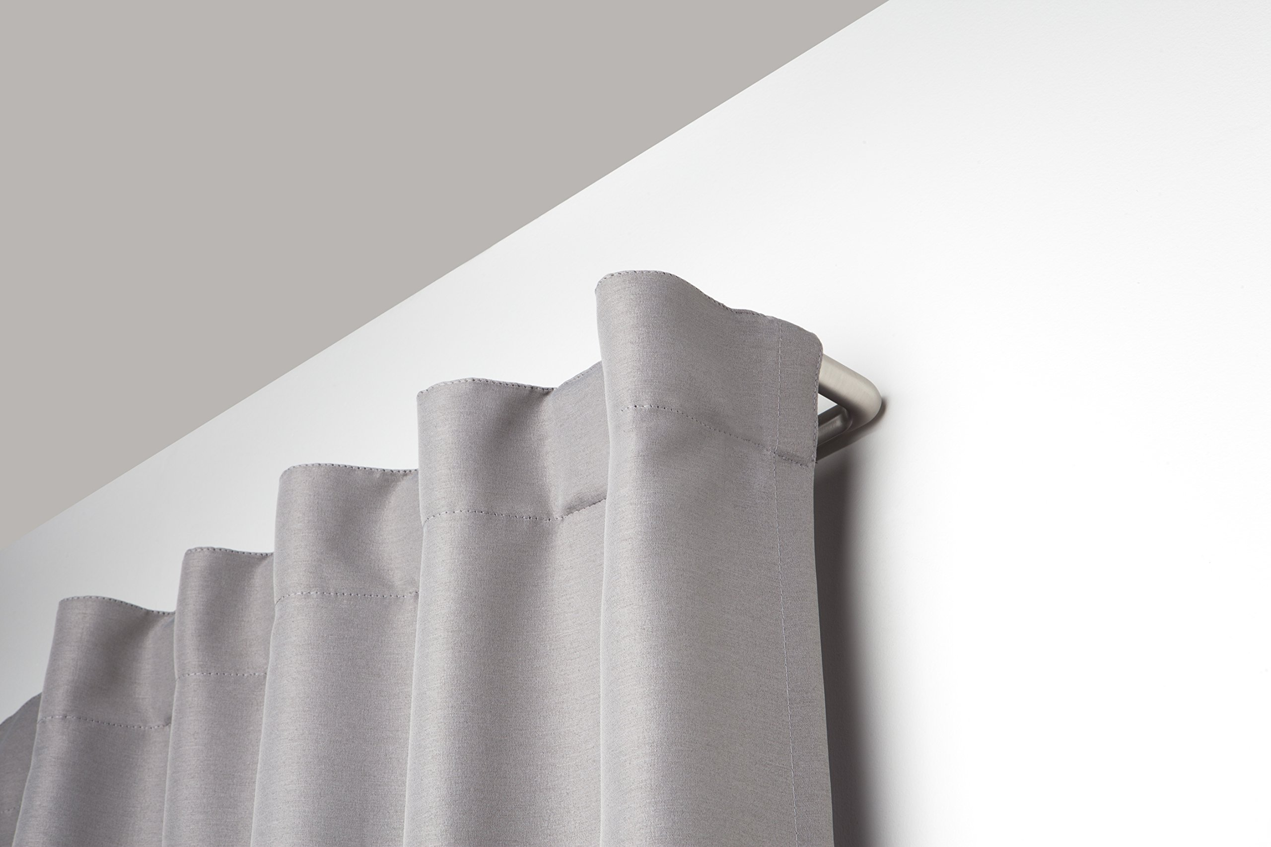 Umbra Twilight Double Curtain Rod Set Wrap Around Design is Ideal for Blackout