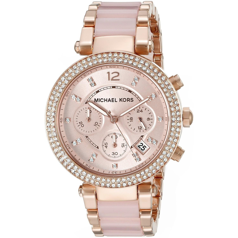 Michael Kors Women\'s Parker Two-Tone Watch MK5896