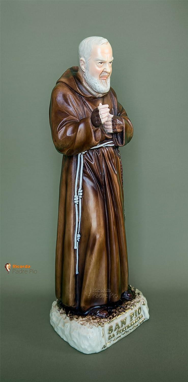 H cm 80 Statua Padre Pio di Petrelcina Colorato Vivaiosantabernadetta