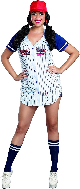 Amazon.com: Dreamgirl Grand Slam - Disfraz deportivo de ...