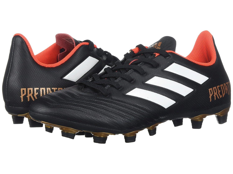 (アディダス) adidas メンズサッカーシューズ靴 Predator 18.4 FG Black/White/Solar Red 12 (30cm) D Medium B07BQHJDZ2