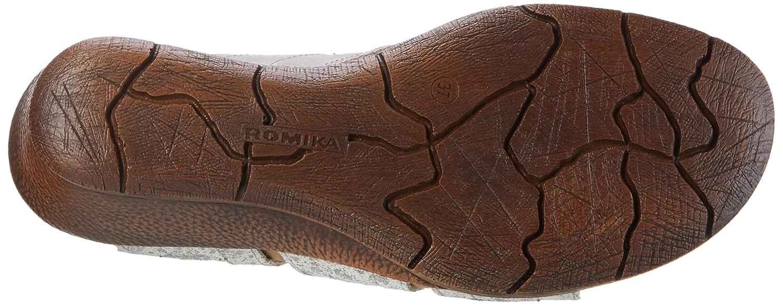 Romika Women's Nevis 04 Sandals Platinum B01M5F8RXO 36 M EU|Platin-kombi