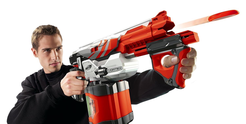 How do Nerf guns work?