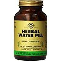 Solgar Herbal Water Pill Vegetable Capsules, 100 Count
