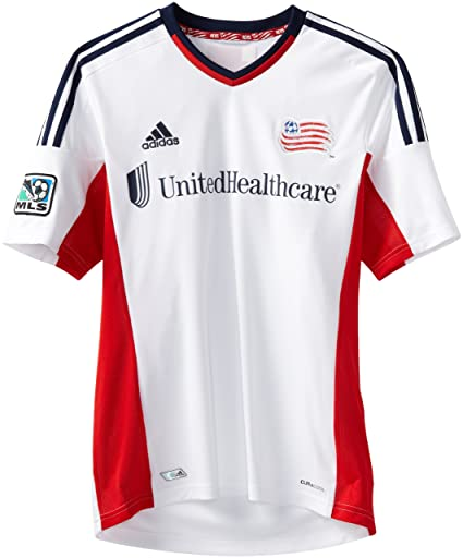 5cf9e1c65 Amazon.com   MLS New England Revolution Replica Away Jersey