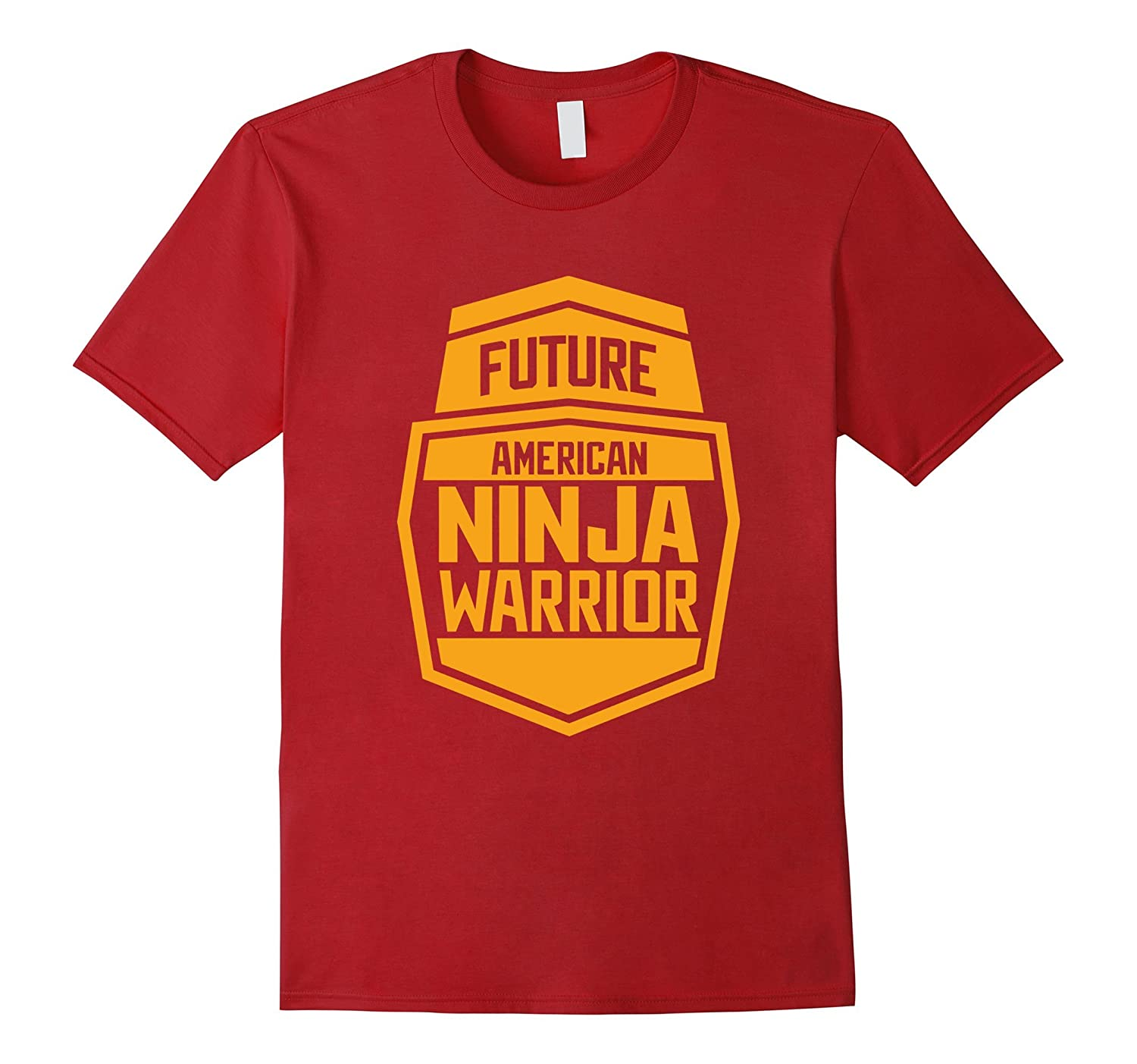 Future Americano Ninja Warrior Kid Gift Tee-Art