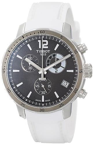 Tissot Reloj Cronógrafo para Hombre de Cuarzo con Correa en Silicona T095.449.17.067.00: Amazon.es: Relojes